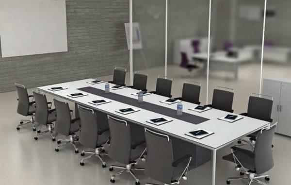 שולחן לחדר ישיבות מדגם רון