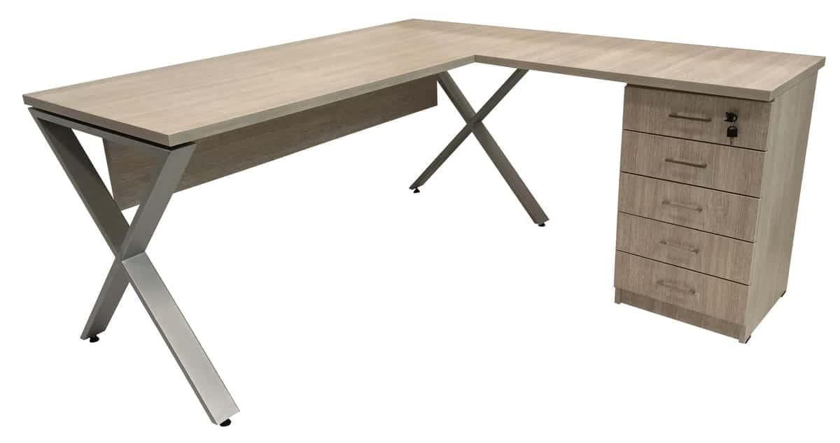שולחן עבודה מעוצב דגם סהר