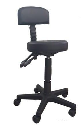 כסא שרפרף עם גב