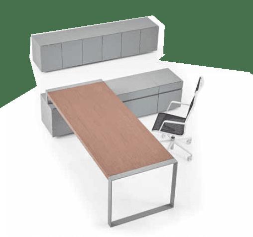 שולחן מנהלים פלטה עבה