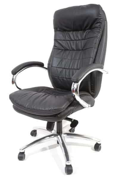 כסא מנהלים מעור אמיתי בצבע