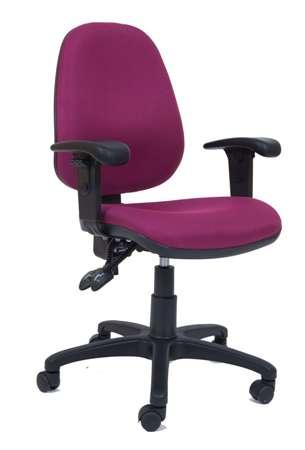 כיסא משרדי דגםליאור עם ידיות מתכוונות