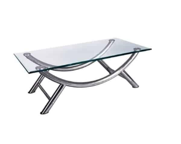 שולחן המתנה מזכוכית