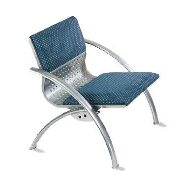 כסא המתנה מדגם ונציה חד מושבית