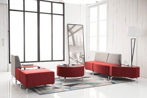 כסא המתנה דגם וינה דו מושבי