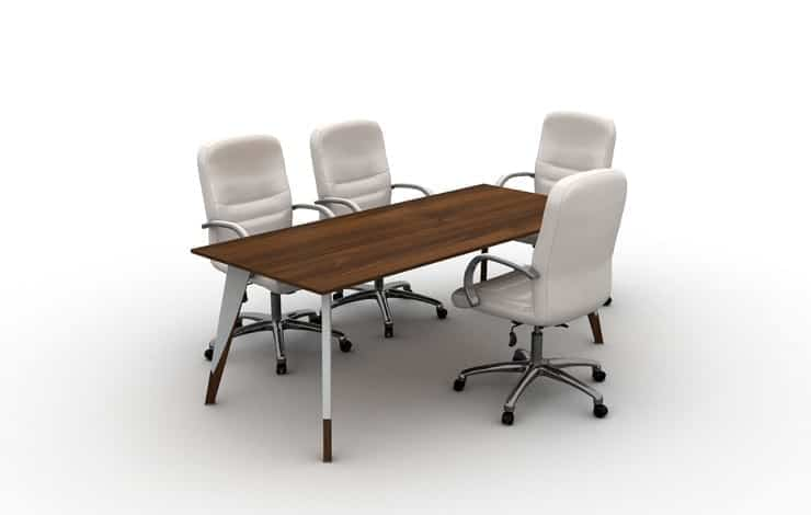 שולחן ישיבות דגם קומפורט קצר