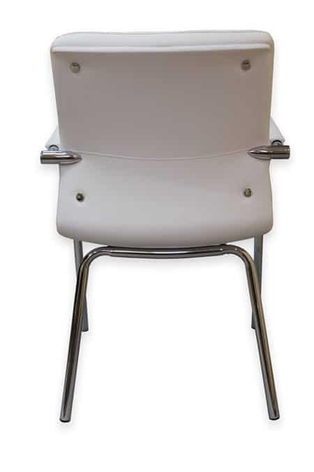 כסא אורח לבן