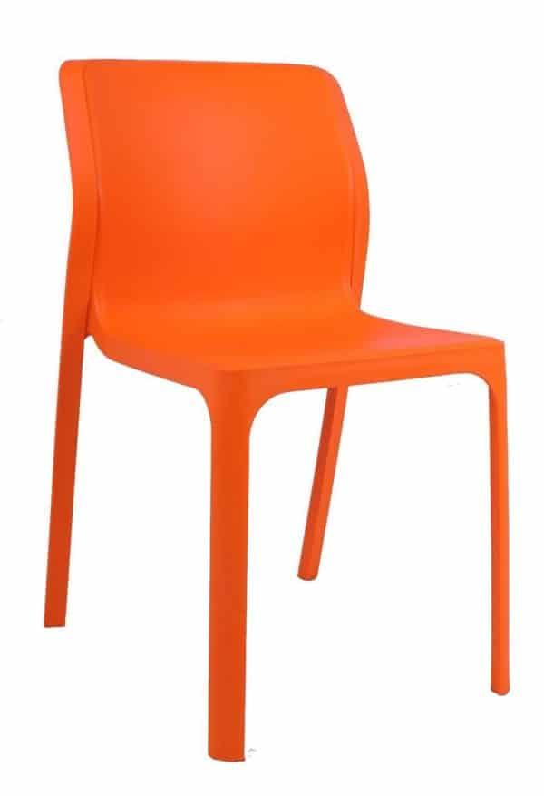 כיסא אורח אדום