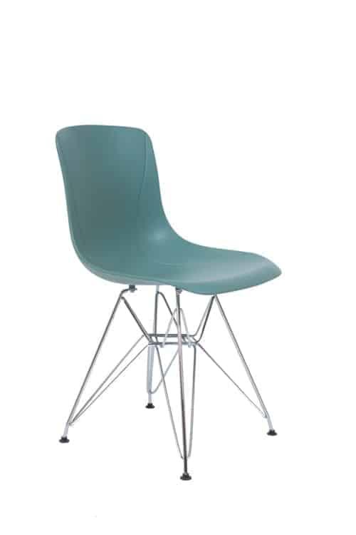 כסא דגם מאיה רגלי ניקל