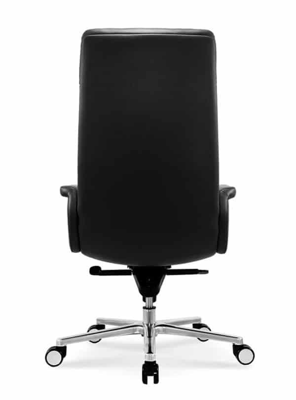 כסא מנהלים מעור אמיתי דגם MARS גב
